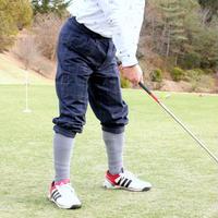 【送料無料】ゴルフウェア  ニッカボッカーズ(メンズパンツ)ウィンドウペン柄 【 3シーズン(春夏秋)用】
