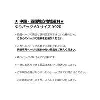 【中国・四国地方送料¥920】~ゆうパック発送となる商品をご購入の方~