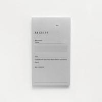 RECEIPT(英・単票)