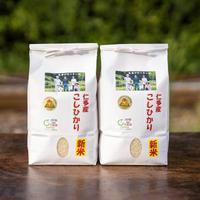 【新米】仁多米コシヒカリ  2kgお試しサイズ×2個