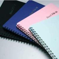 バンドファイル リングタイプ 20ポケット(40ページ) 各色