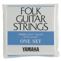 ヤマハ フォークギター弦  セット ライトゲージ FS520