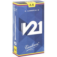 バンドーレン B♭クラリネットリード V21  (10枚入り)