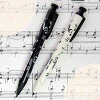 シャープペンシル(音符柄) 音楽モチーフシャーペン
