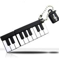 カナック企画(Kanack) ピアノ鍵盤型USBメモリ SIL-001A(4GB)