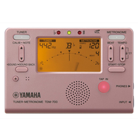 ヤマハ チューナーメトロノーム TDM-700 各色