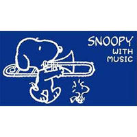 SNOOPY SMP-TB7 スヌーピー 2019限定マウスピースポーチ トロンボーン用 スヌーピー