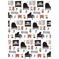 LP1815−01 クリアファイル la la PIANO / 吉澤