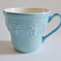 ウエッジウッド フェスティビティー ブルー マグカップ