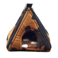 【ピラミッド型ハウス】牛柄 [ブラウン]