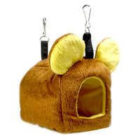 🐻耳付きハウス 黄茶クマさん🐻(Sサイズ)