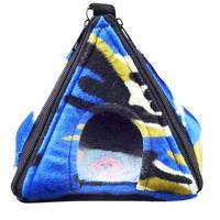 【ピラミッド型ハウス】迷彩柄 [ブルー]
