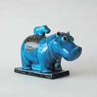 青釉オーナメント 「タウレト」