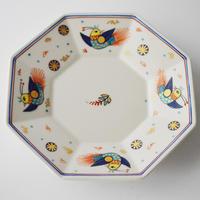 ペルシア色絵八角鉢(小)