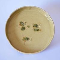 黄瀬戸銅鑼鉢