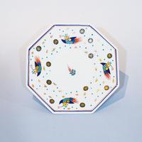 ペルシア色絵 八角鉢