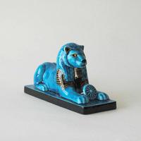青釉オーナメント 「セクメト」