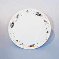 ペルシア色絵 パスタ皿