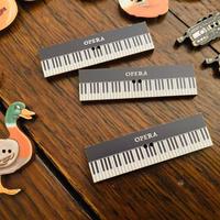フランス製 木製 ボタン ピアノ