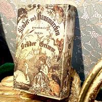 グリム童話 かえるの王さま 古書 ブック型 ボックス