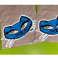 アメリカ 猫 Frank Kozik((フランク・コジック)) 耐水ステッカー