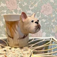 3D アニマルマグ フレンチブルドッグ 犬 マグカップ