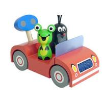 チェコアニメ クルテク 木製玩具