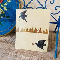 西淑 レターセット 鳥の星遊び