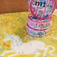 カモ井加工紙 mt  お花の刺繍 マスキングテープ