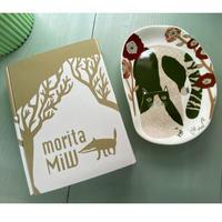 moritaMiW 『空き地の陽だまりの猫』 小皿 食器 猫