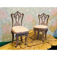ミニチュア家具 アンティークチェア ピンクッション