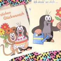 チェコアニメ クルテク メッセージこもったポストカード