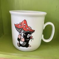チェコ製 クルテク マグカップ キノコ