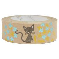 シンジ カトウ クラフトテープ 猫 黒猫