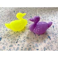 イタリア製 プラスチックドール 水鳥
