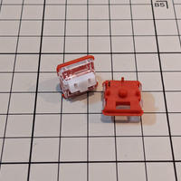 Kailh Choc v1 RedPro (35gf リニア) 5個 / Kailh Choc v1 RedPro (35gf linear) 5pcs