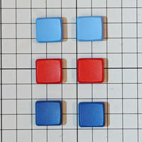 MBK Choc Low Profile 1U無刻印キーキャップ (染色) 2個 / Dyed Color 1U 2pc