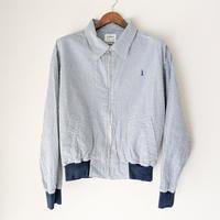 H.UNIT / Seersucker drizzler jacket