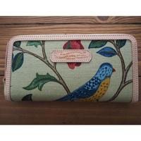 THE SUPERIOR LABOR / William Morris long zip wallet