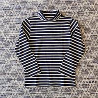MULLER & BROS. / turtleneck border tee
