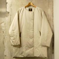 【予約販売】《 Lady's 》ZANTER JAPAN / #0113 No Collar Down Coat ( 2 color )