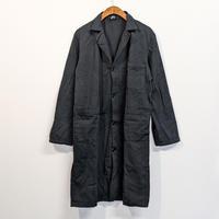 【未使用】DEAD STOCK イタリア軍 ワークコート BLACK染め