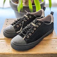 SLACK FOOTWEAR / CLUDE PREMIUM SUEDE ( BLACK / BLACK )