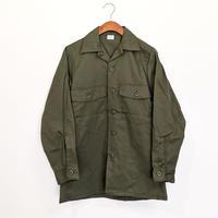 【未使用】DEAD STOCK アメリカ軍 OG-507 ユーティリティシャツ ( OLIVE )