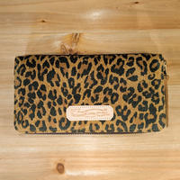 THE SUPERIOR LABOR / leopard print zip long wallet