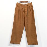 HATSKI / Uncut 2Tuck Wide Trousers 《 2 color 》