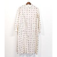 H.UNIT / Paisley print shirt dress