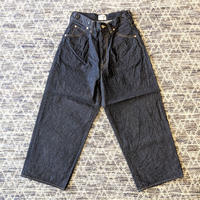 H.UNIT / Left hand denim crown size 5P