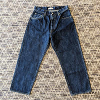 HATSKI / Wide Tapered Denim  (BLUE)