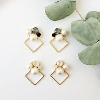 pearl bubble2 pierce/earring